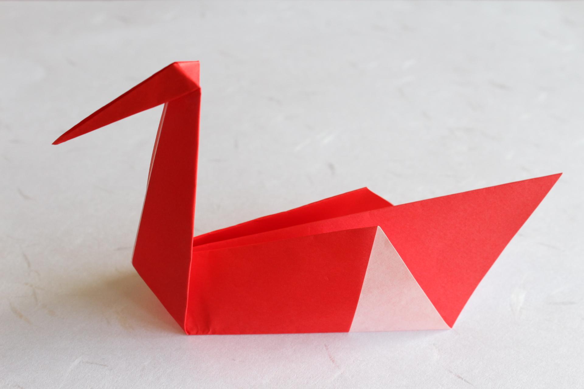 折り紙の箸置き