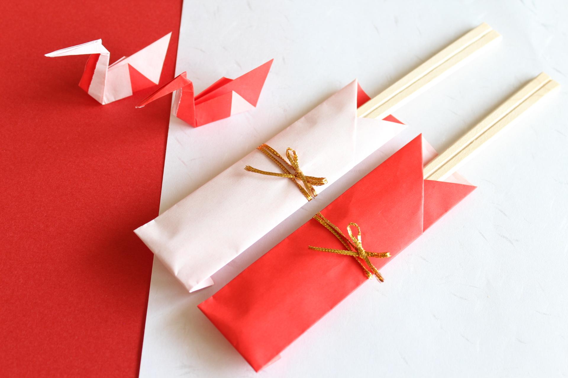 折り紙の箸袋