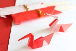 箸置きの折り紙