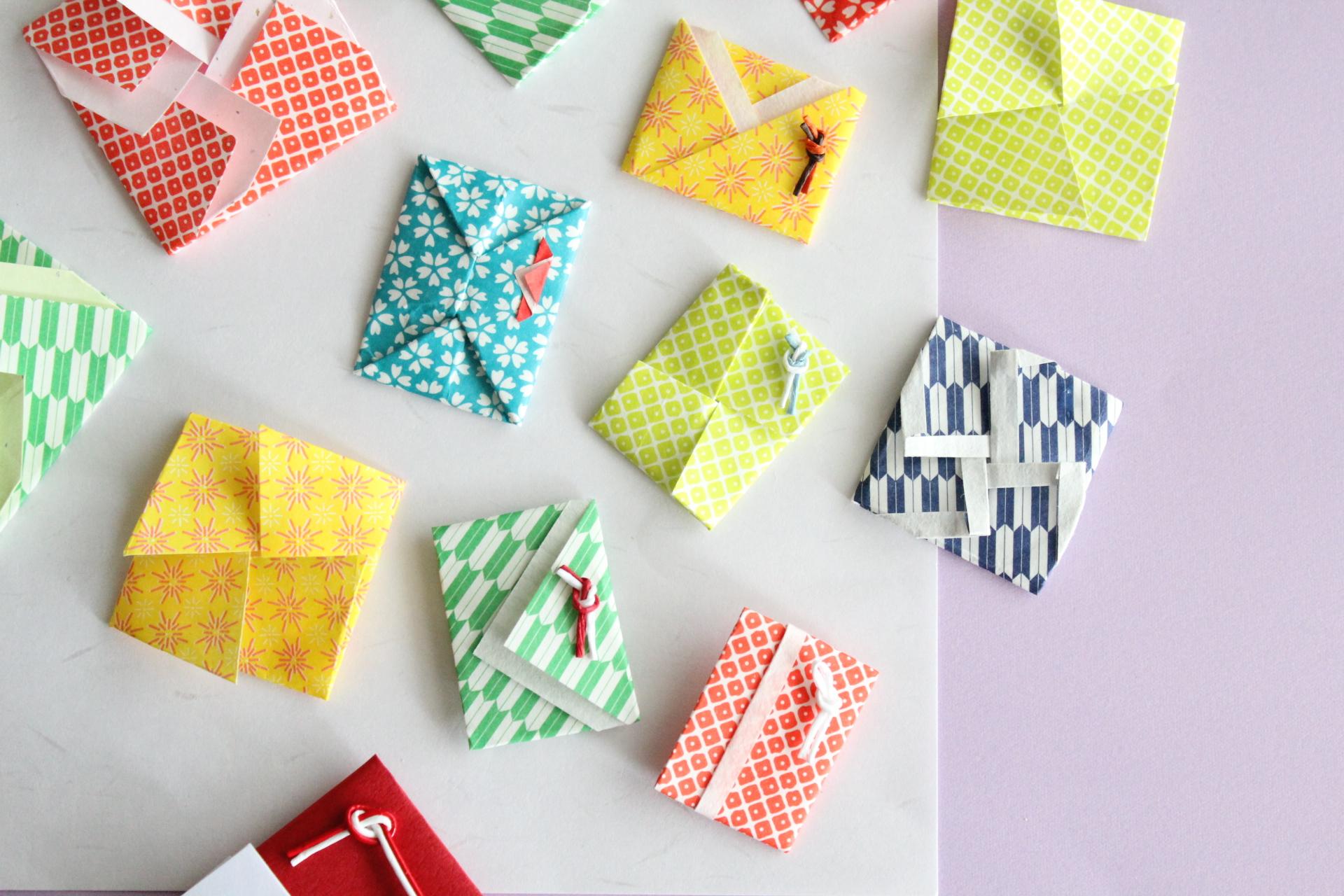 ポチ袋の折り方