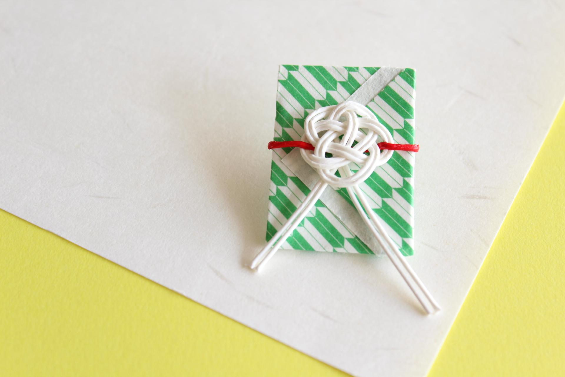 三角デザインのポチ袋