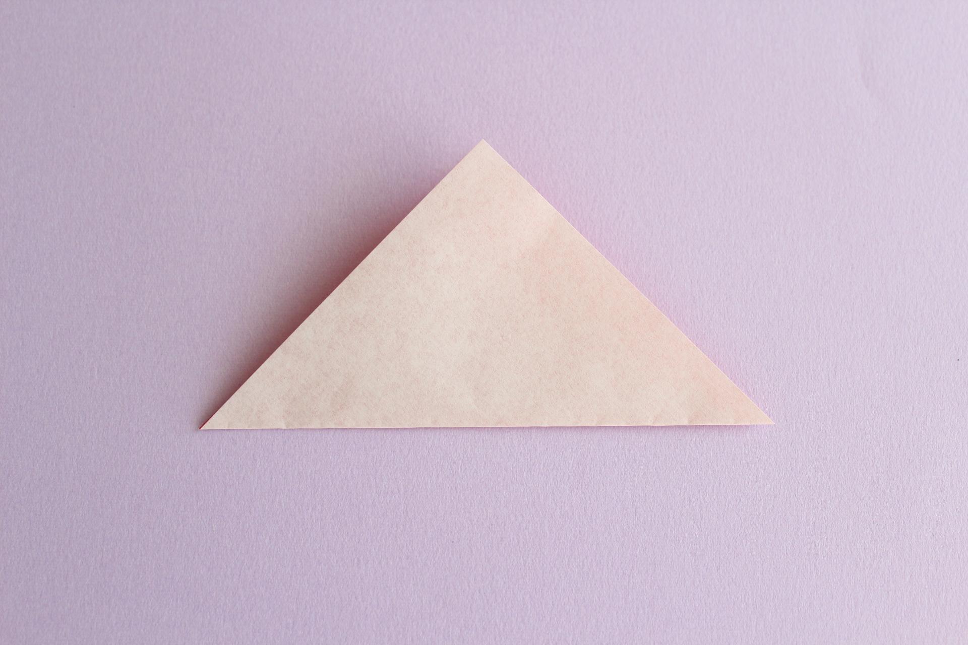 トリの折り方2