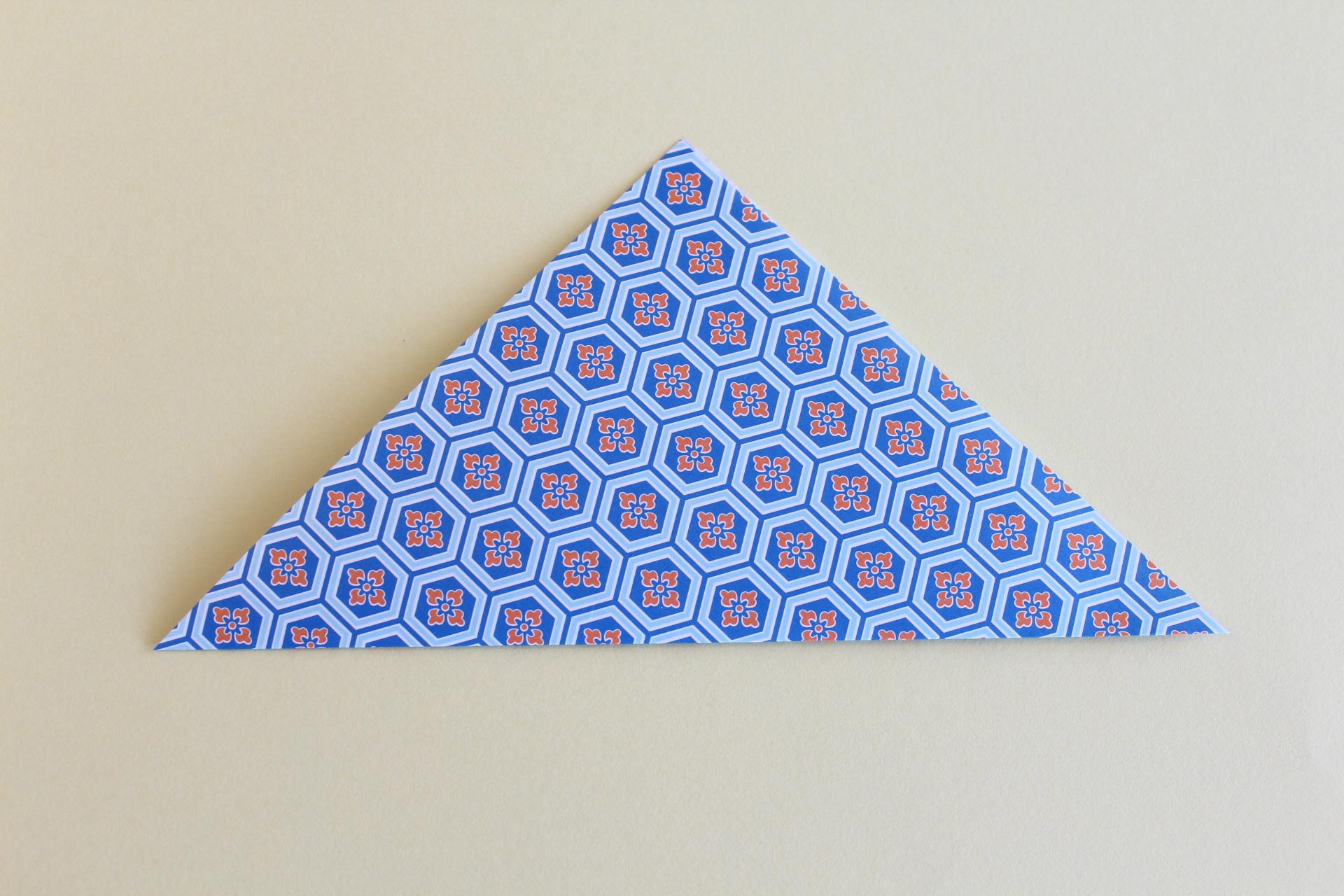 コマの折り方1