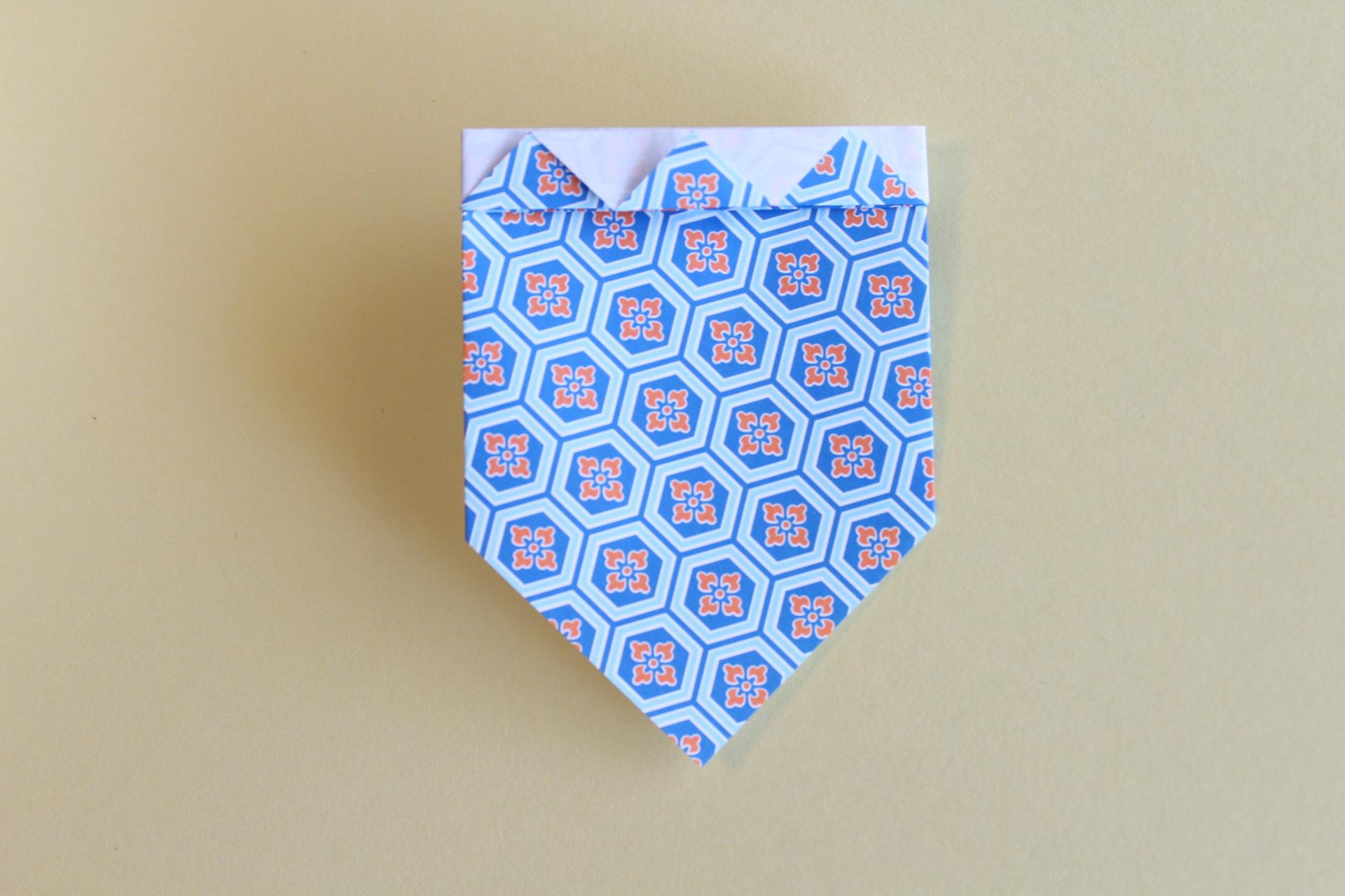 コマの折り方8