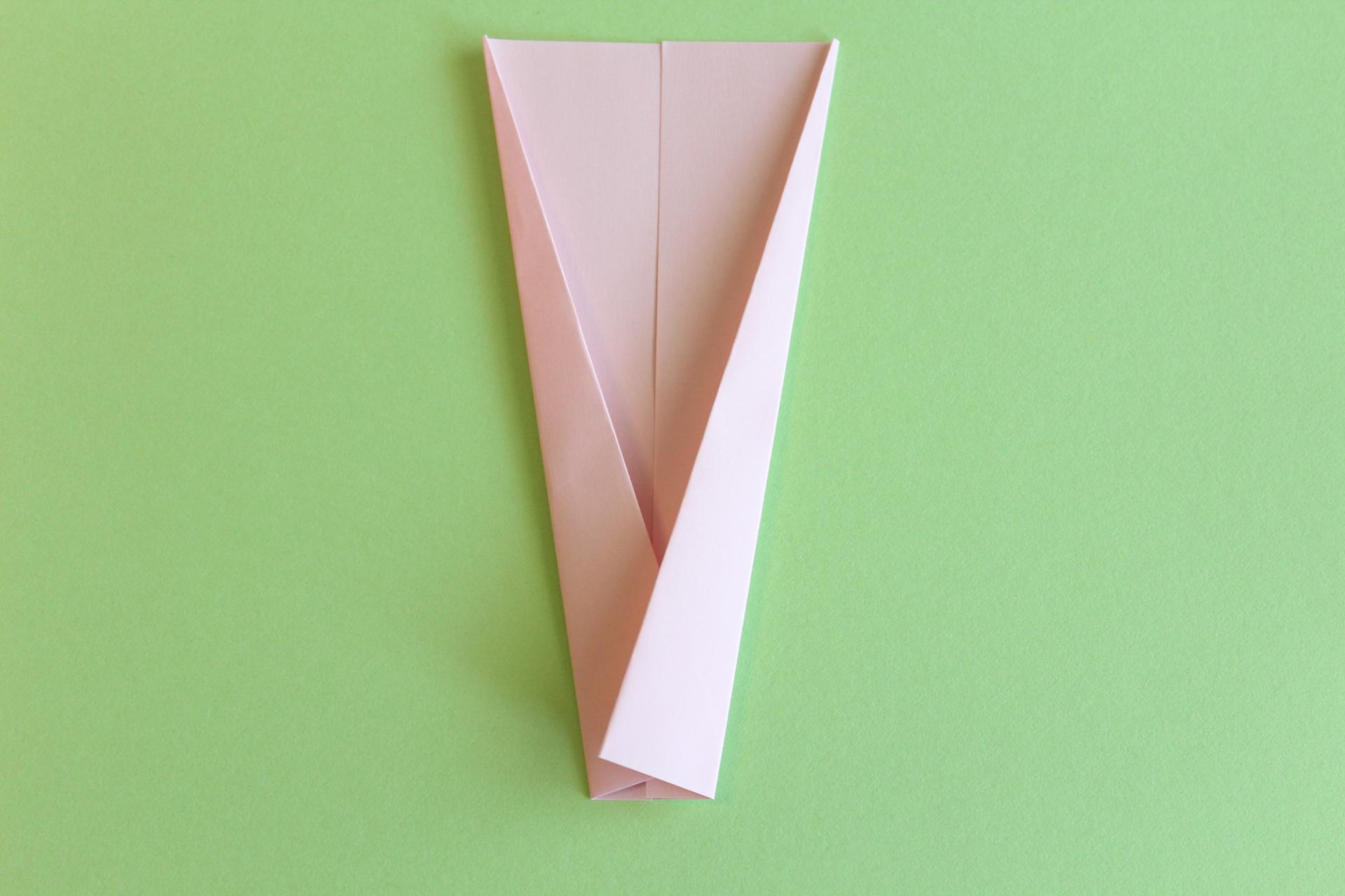 羽子板の折り方2