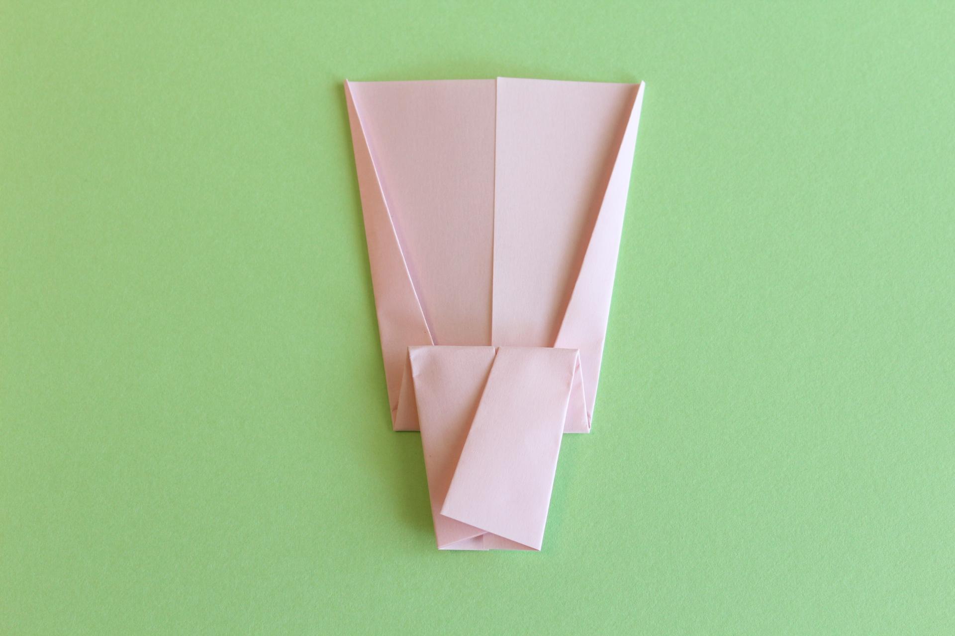 羽子板の折り方4