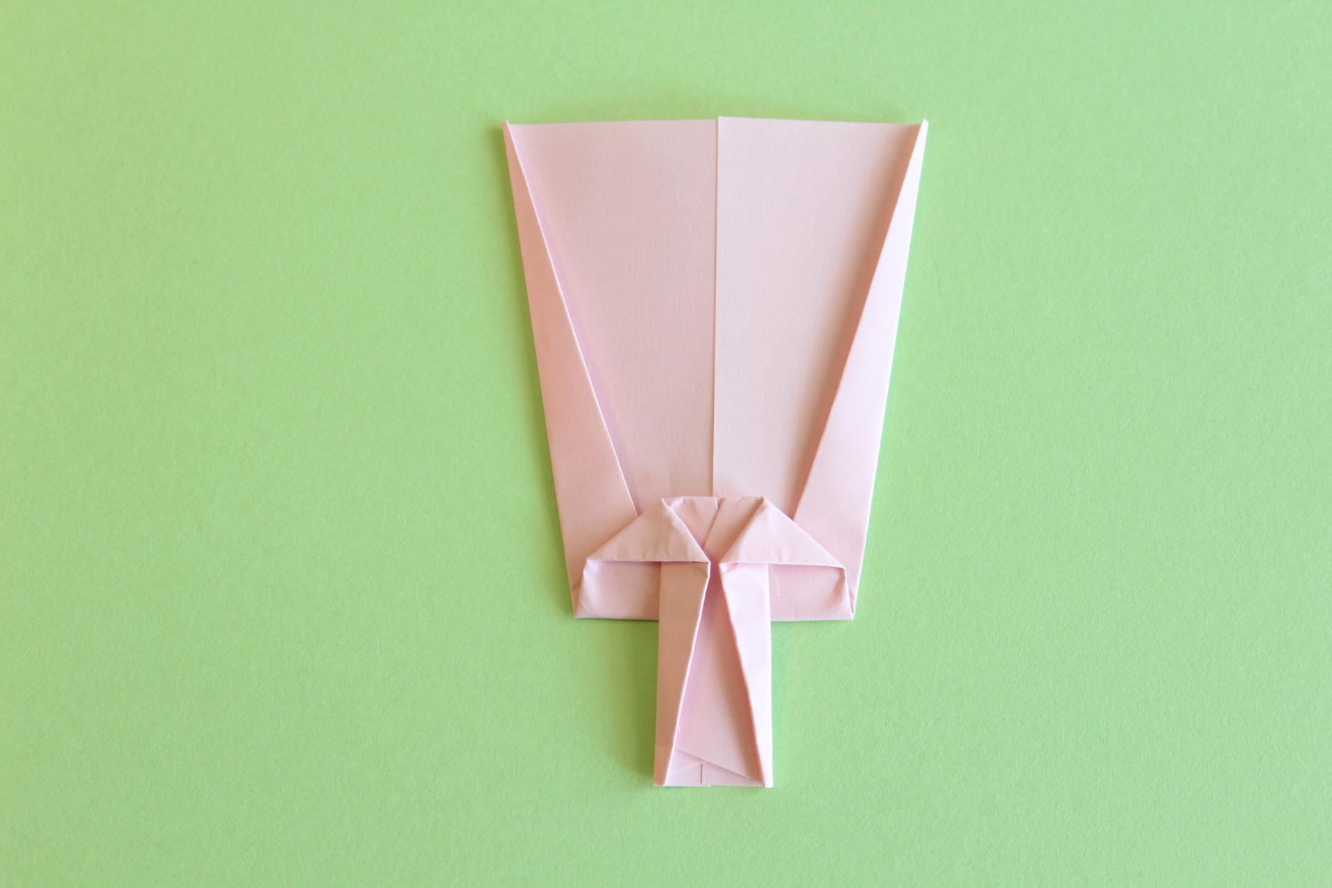 羽子板の折り方5