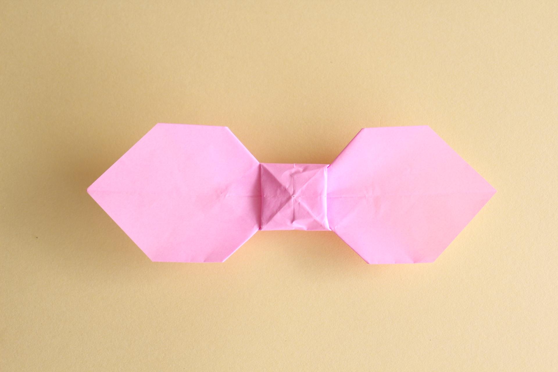リボンの折り方