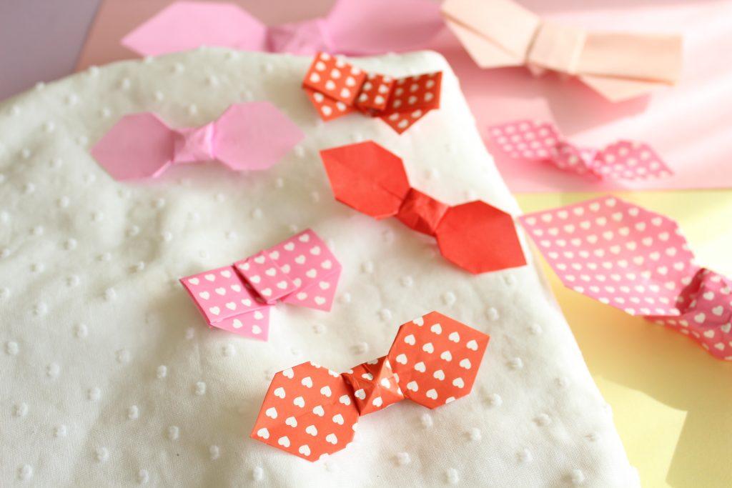 折り紙でリボンの折り方