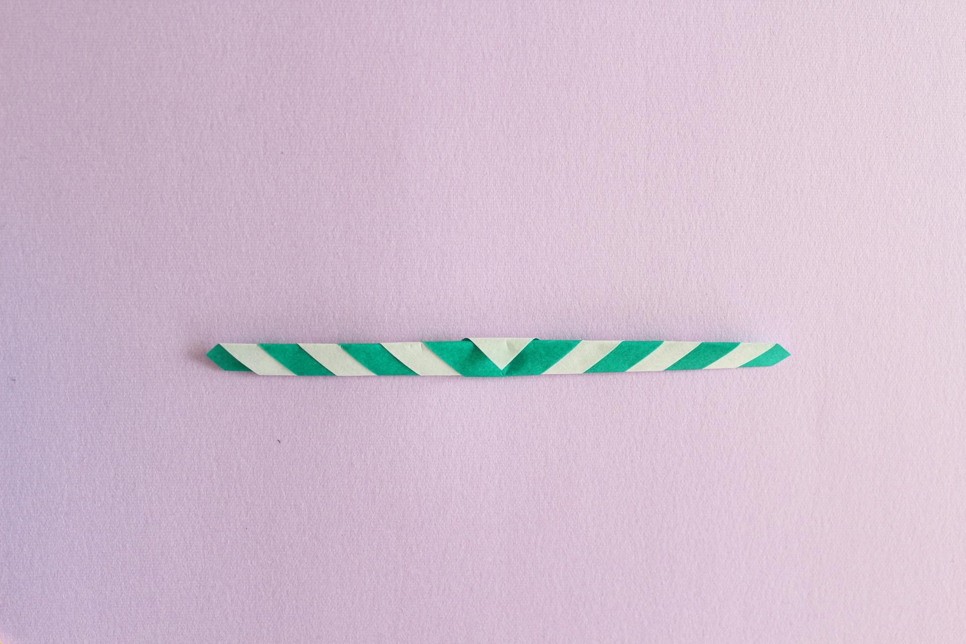 キャンディースティックの折り方3