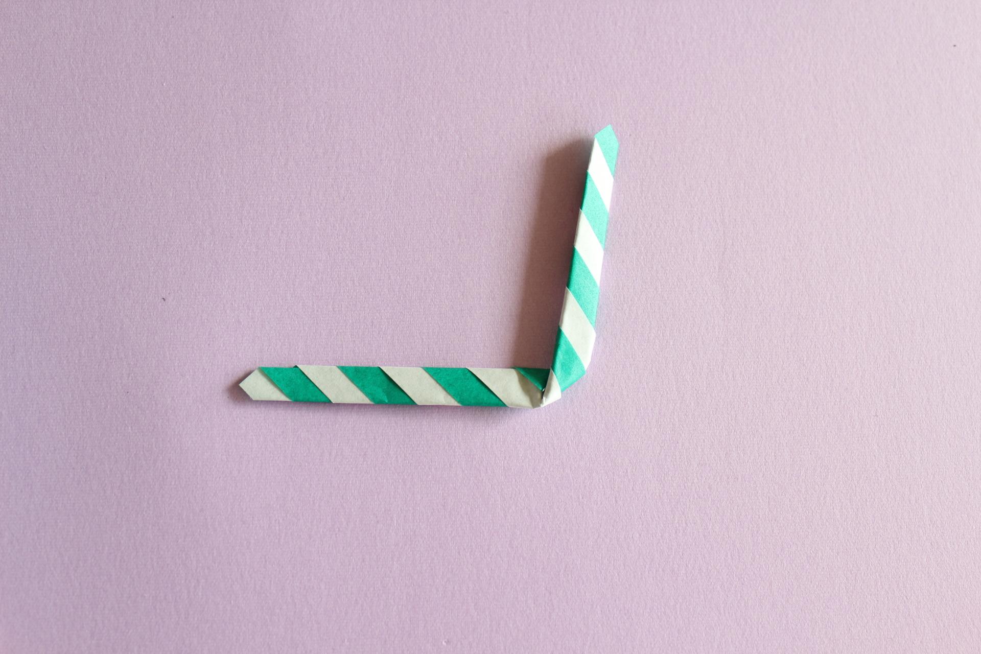 キャンディースティックの折り方4