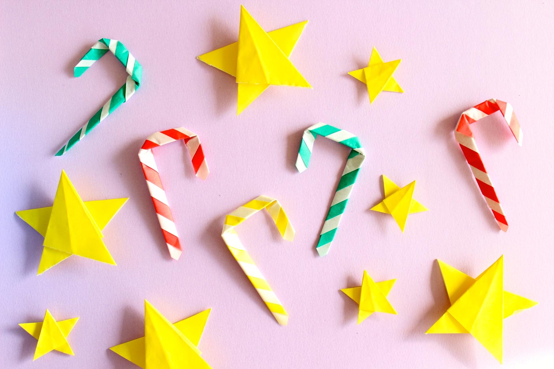 キャンディースティックの折り方