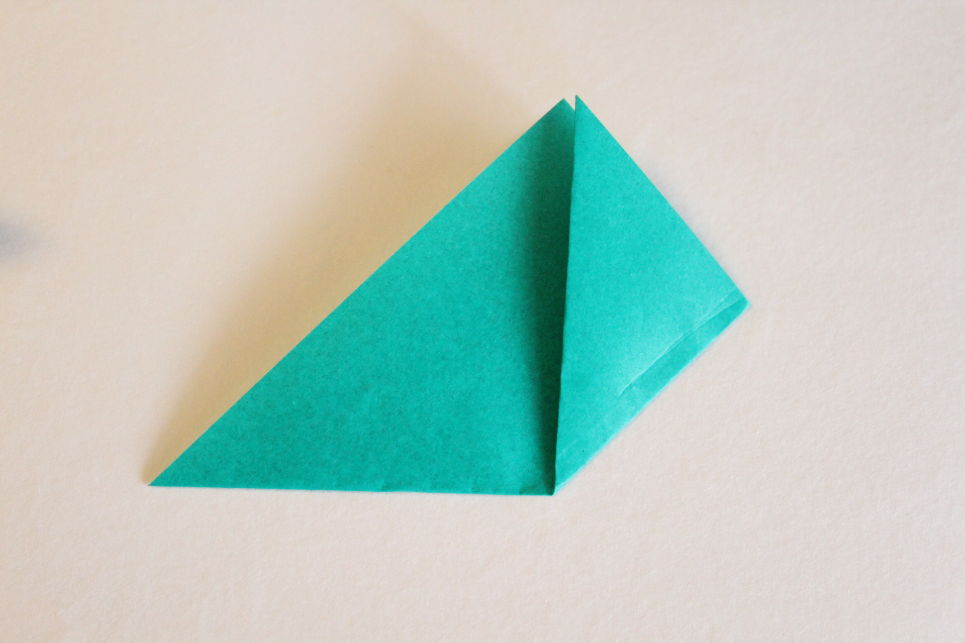 クリスマスリースの折り方2
