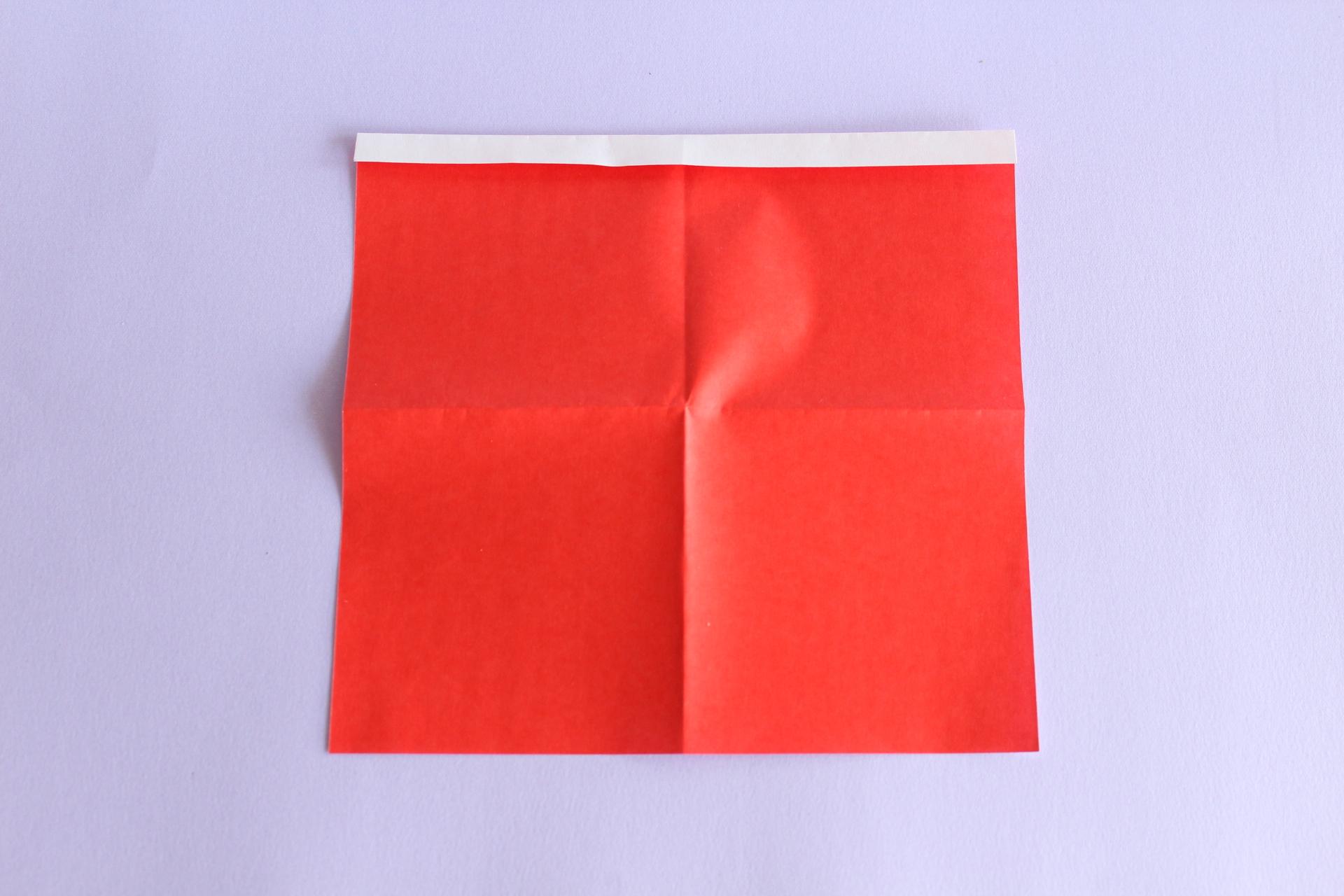 サンタの折り方2