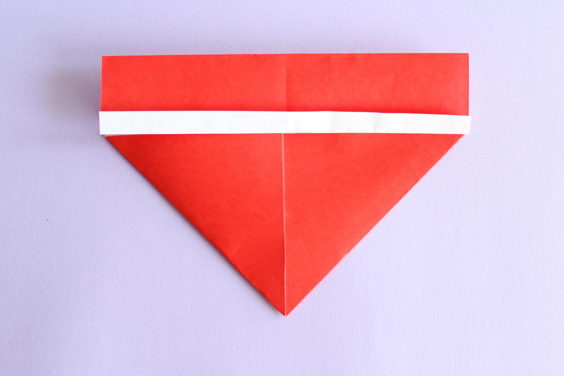 サンタの折り方4