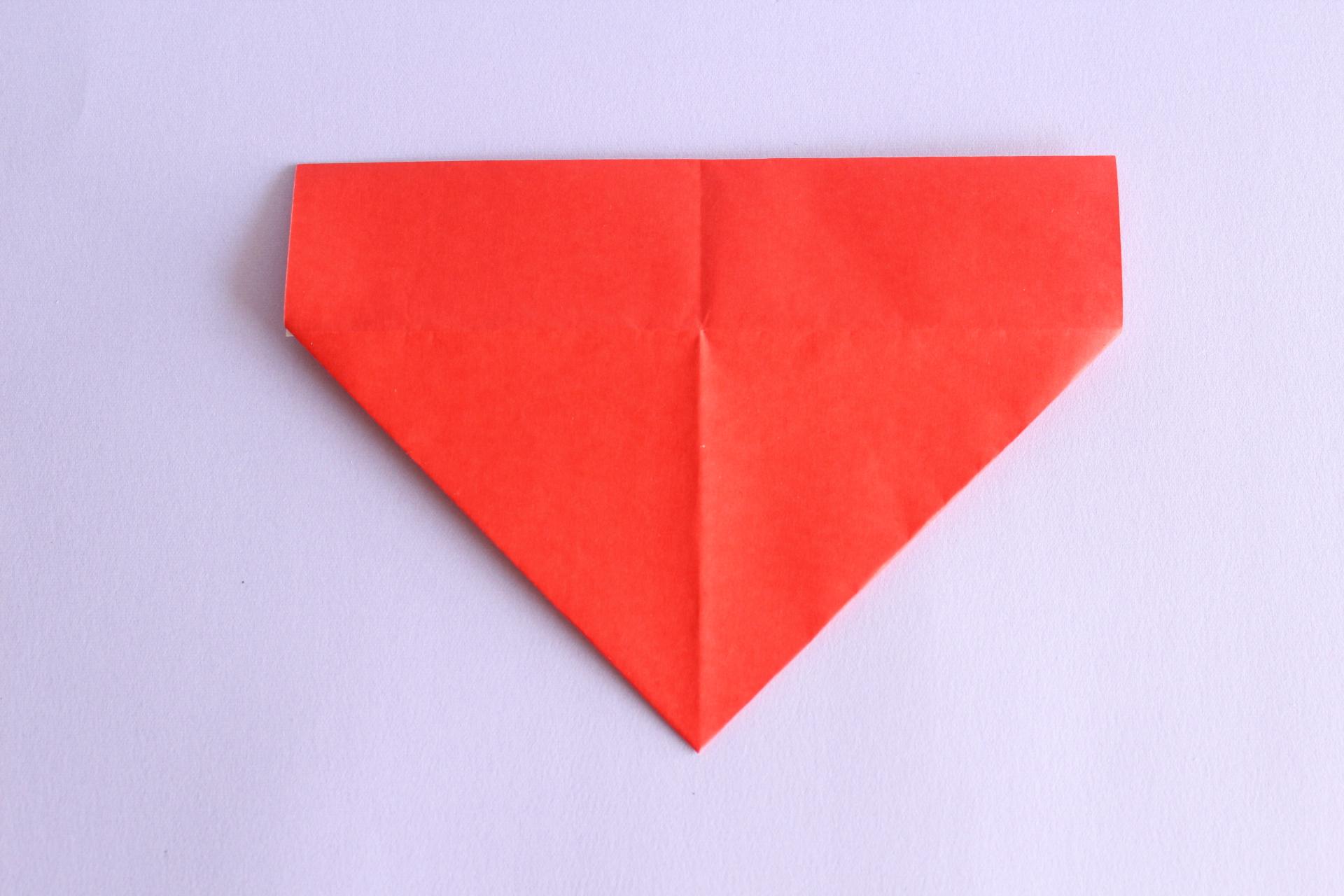 サンタの折り方5