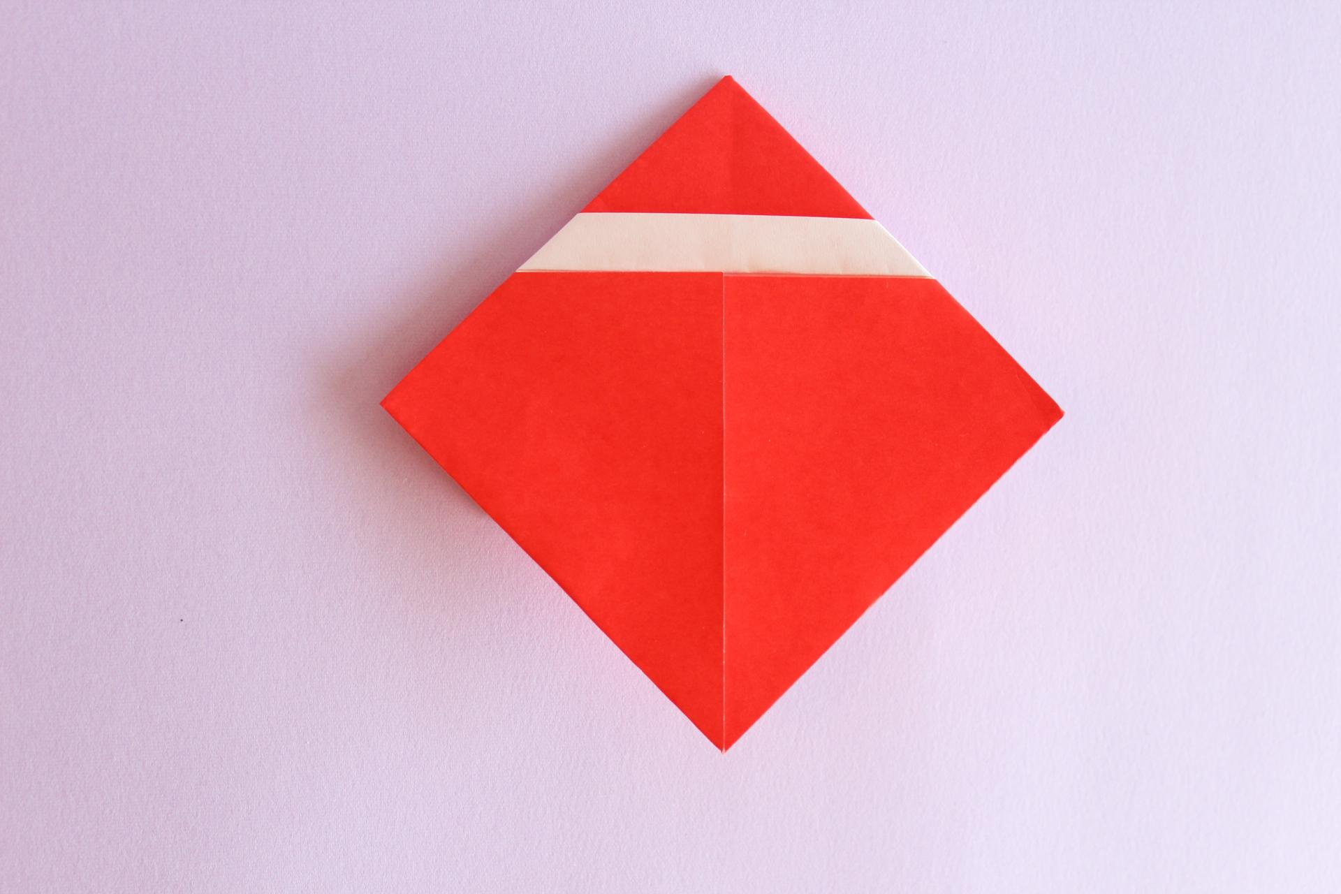 サンタの折り方6