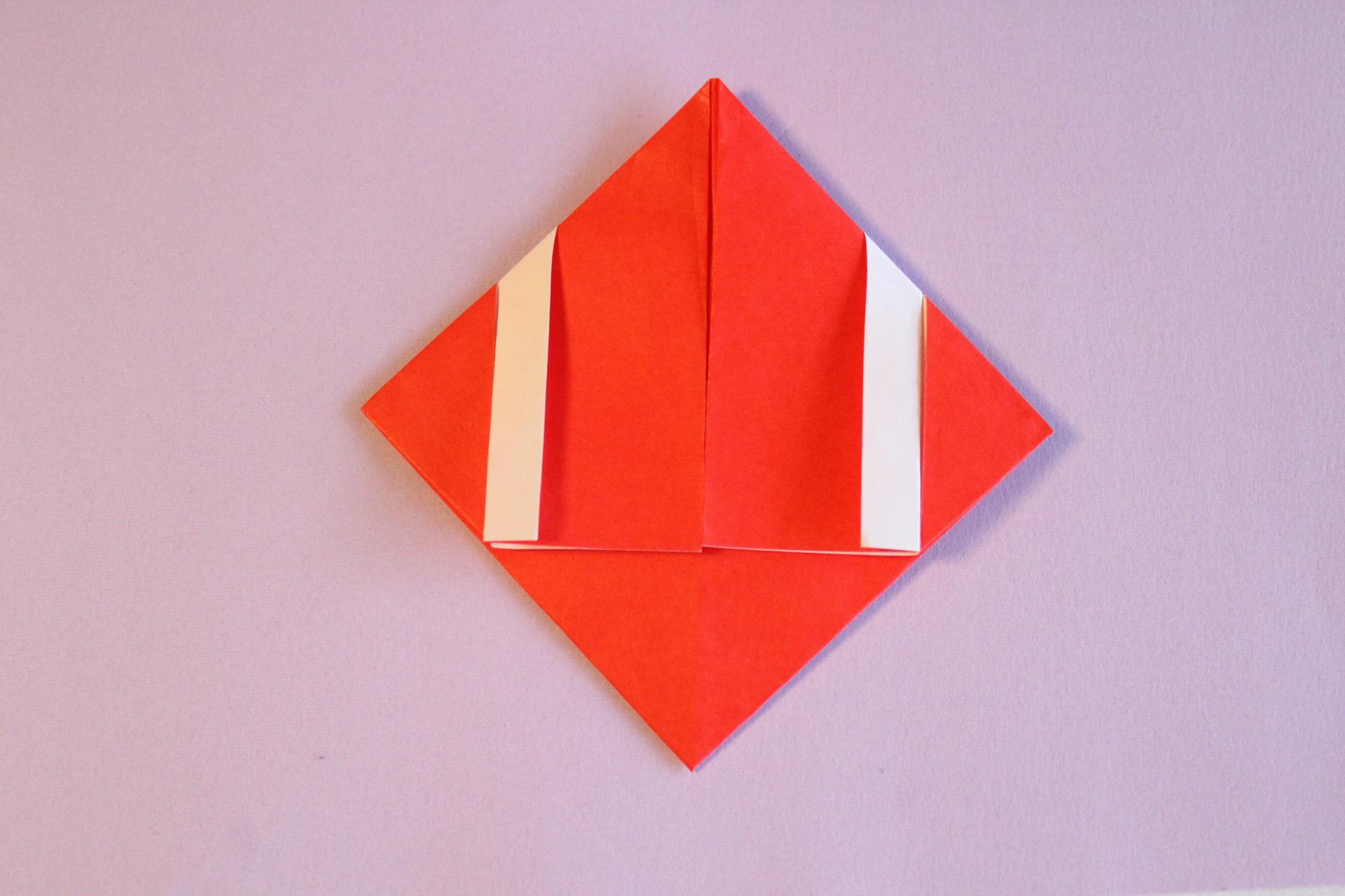 サンタの折り方5-1