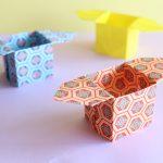 折り紙で三方(三宝、さんぼう、さんぽう)の折り方