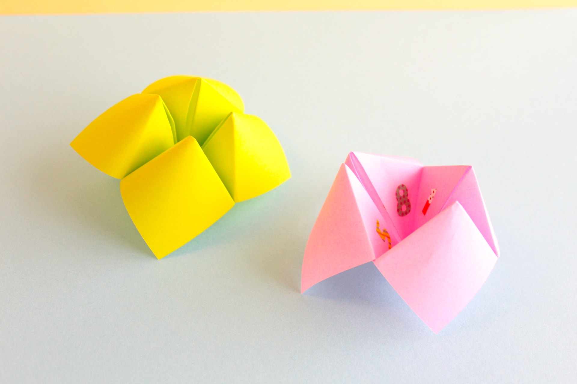 折り紙でパクパクの作り方と遊び方