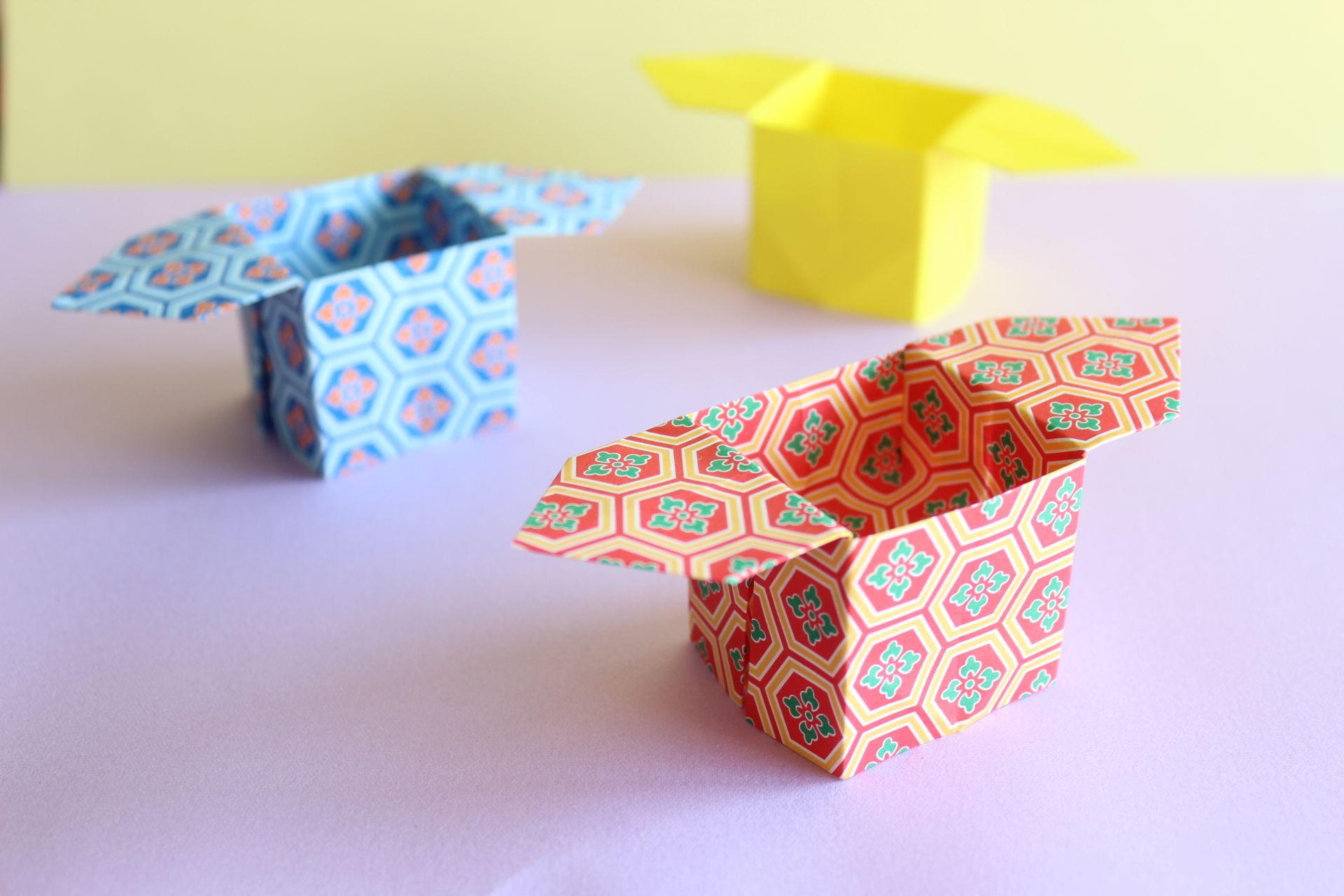 折り紙で三方の折り方