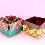オープンボックスの作り方!簡単で便利なBOXの折り方だよ!