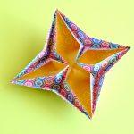 菊皿の折り方