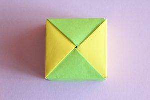 ユニット折り紙で箱