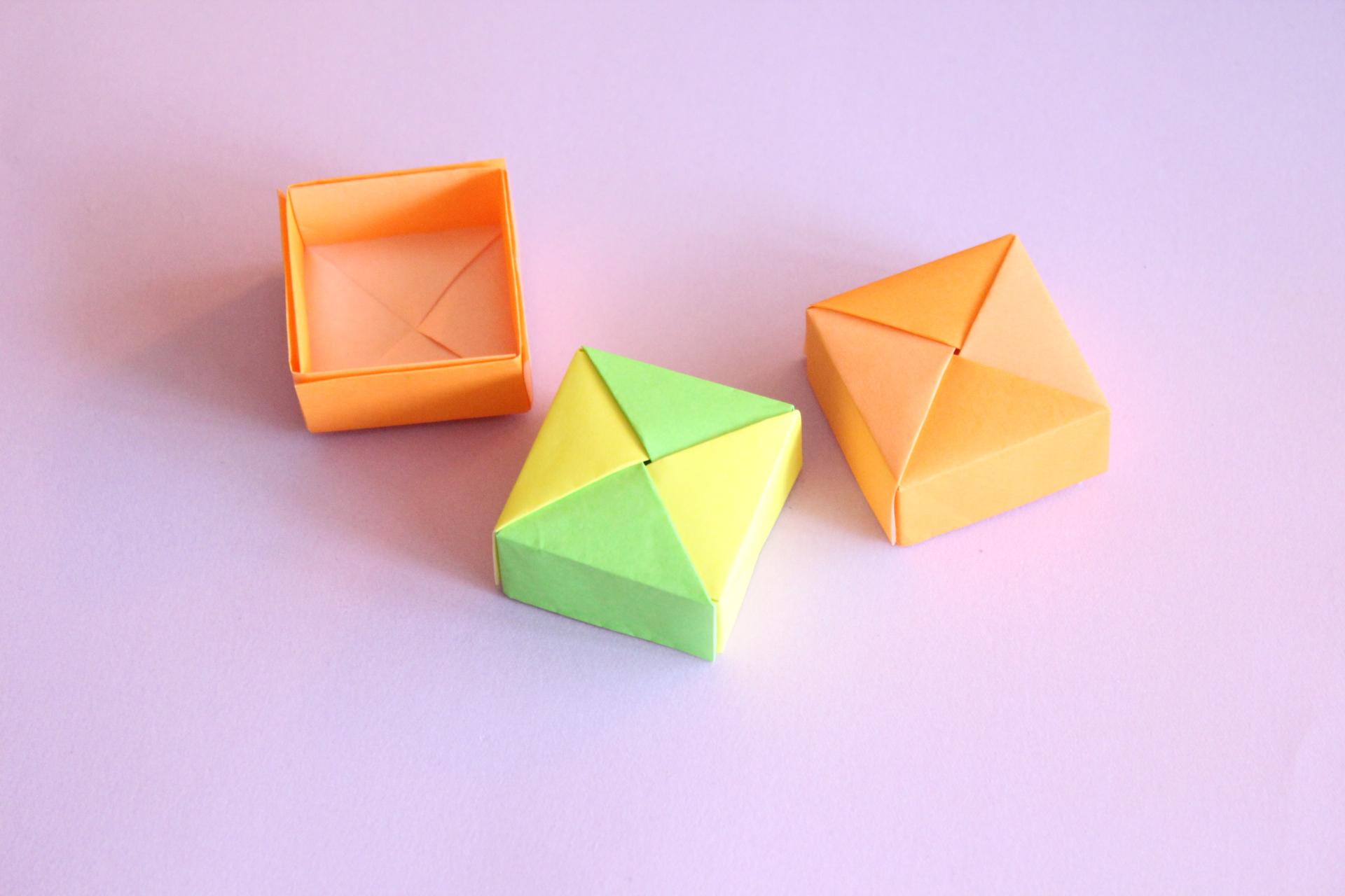 ユニット折り紙のbox