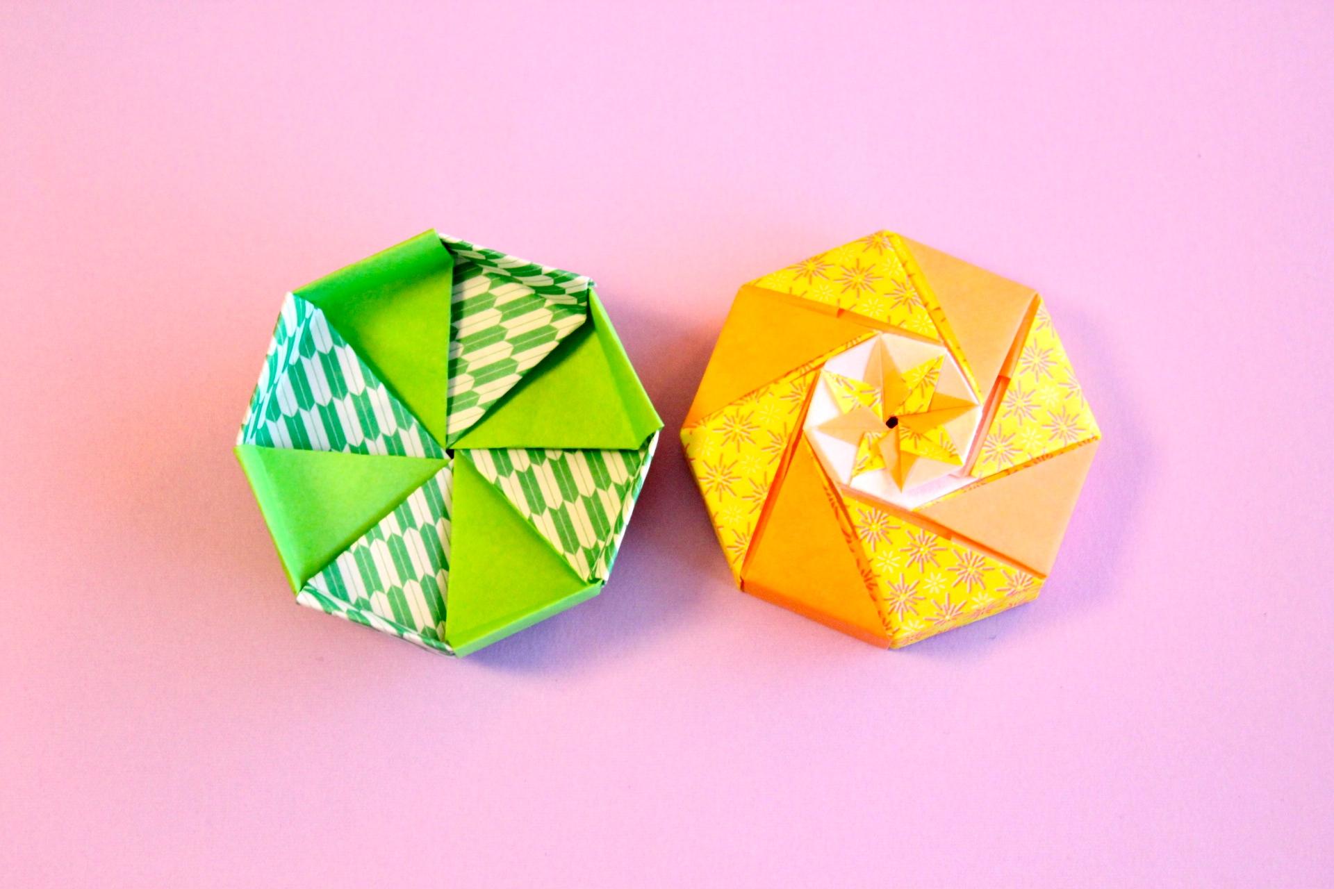 八角形のボックス