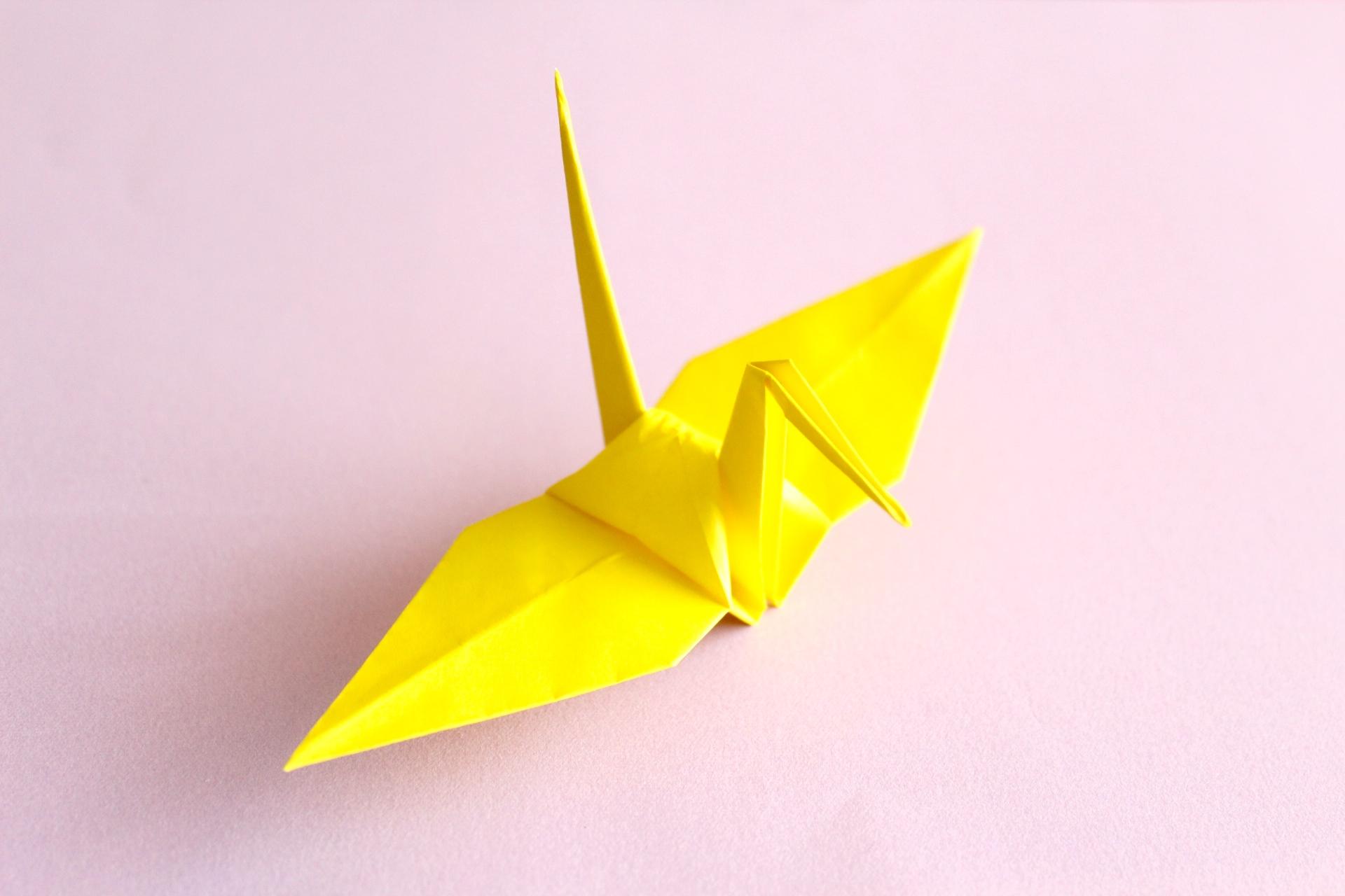 折り紙で鶴の折り方