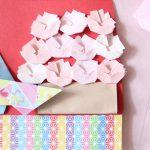 折り紙で桜の花の作り方!簡単な折り方でさくらができるよ!