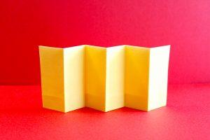 折り紙で屏風の折り方