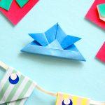 折り紙 かぶと(兜)の折り方