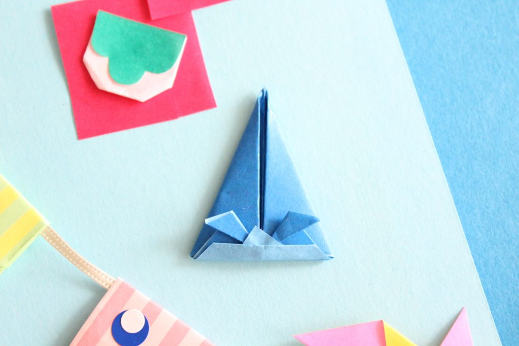 折り紙で長かぶと