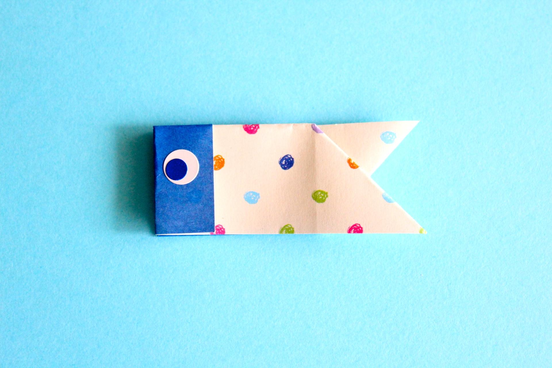 折り紙で鯉のぼりの折り方
