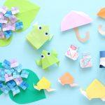 6月の折り紙!簡単な折り方7作品で雨の日も大喜び!!