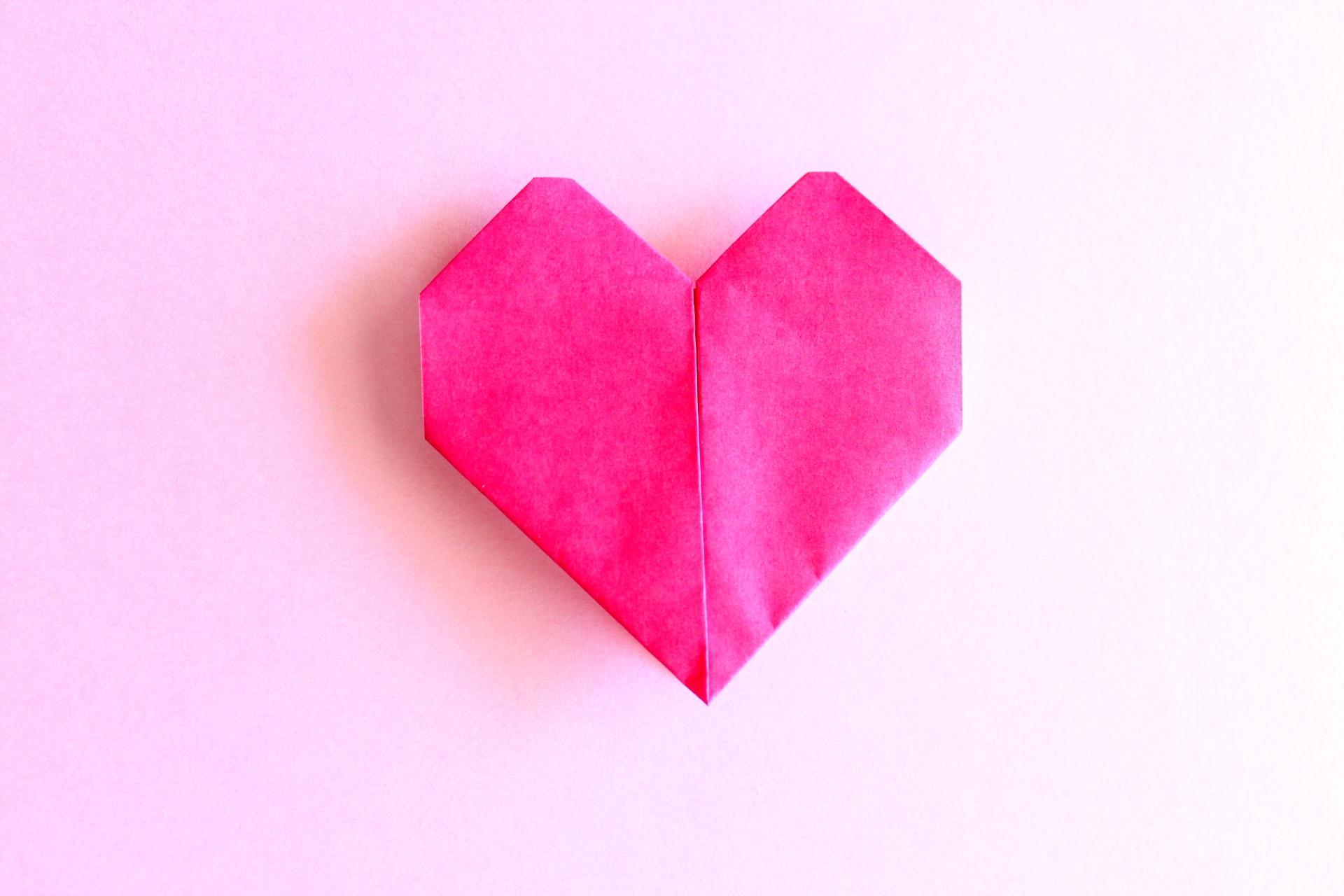 折り紙のハート