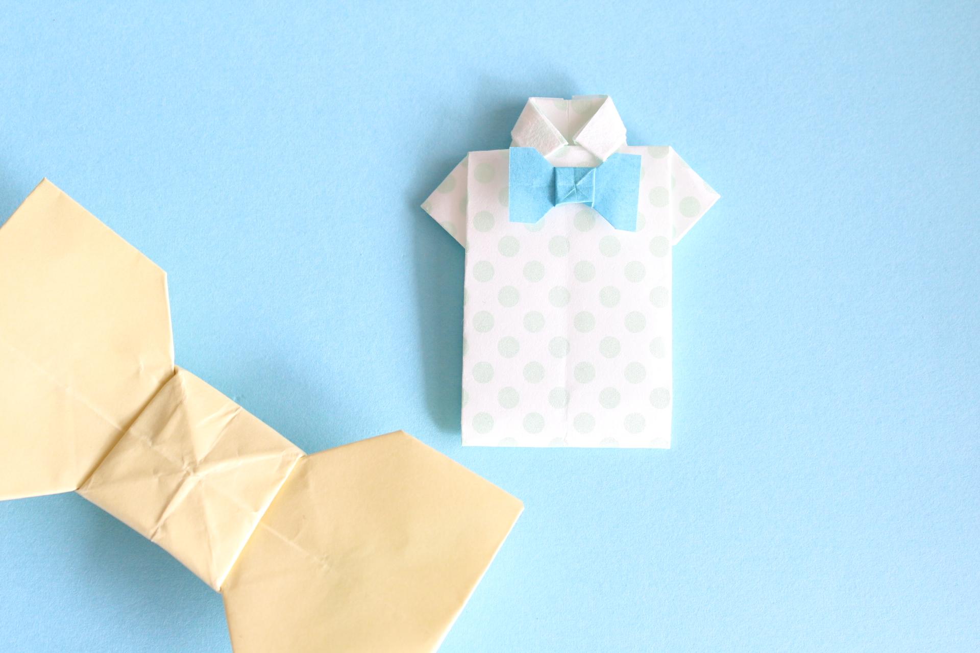 蝶ネクタイの折り方