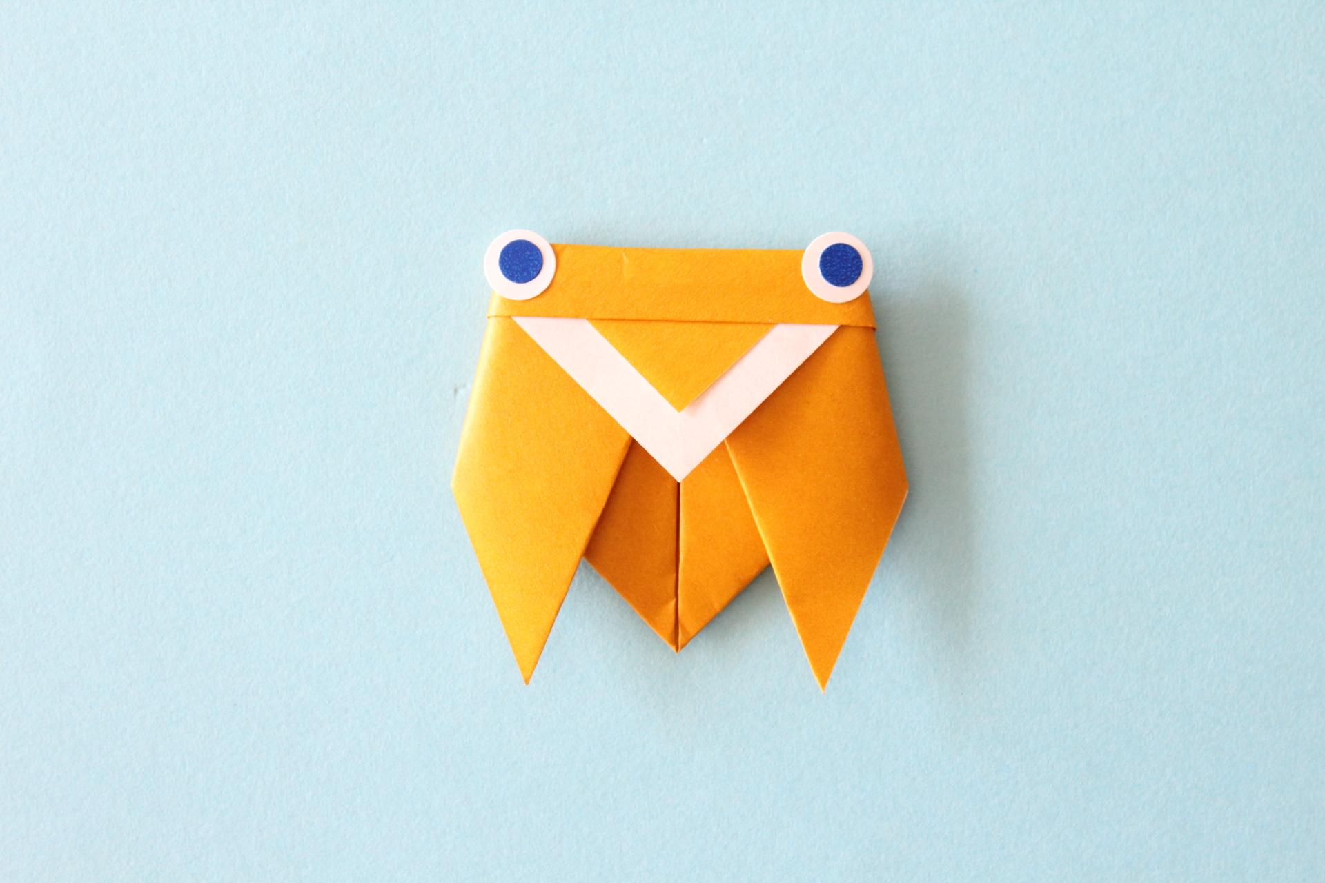 折り紙でセミの折り方