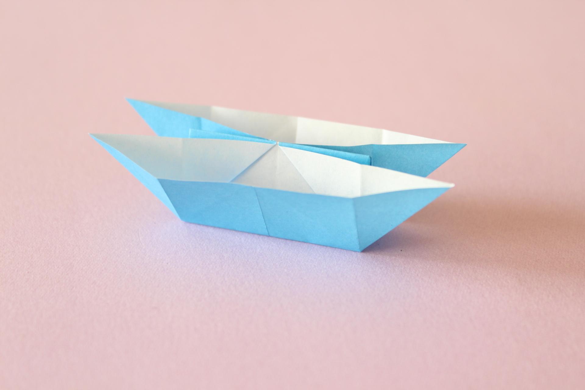 折り紙でにそうぶねの折り方