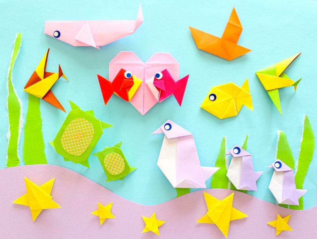 魚の折り紙