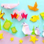 8月の折り紙!魚(さかな)の折り方や海の生き物&乗り物まとめ