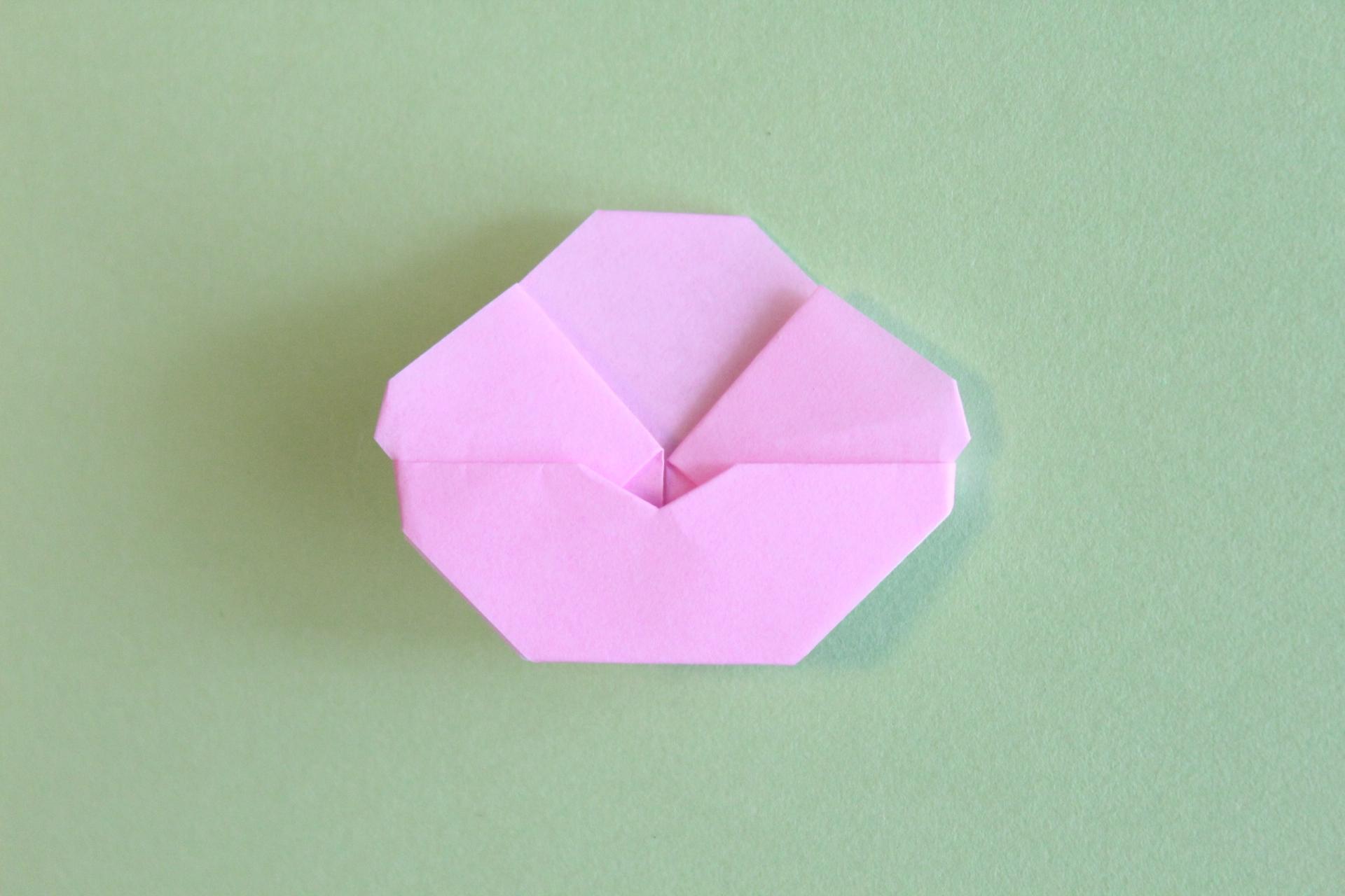 梅の花の折り紙