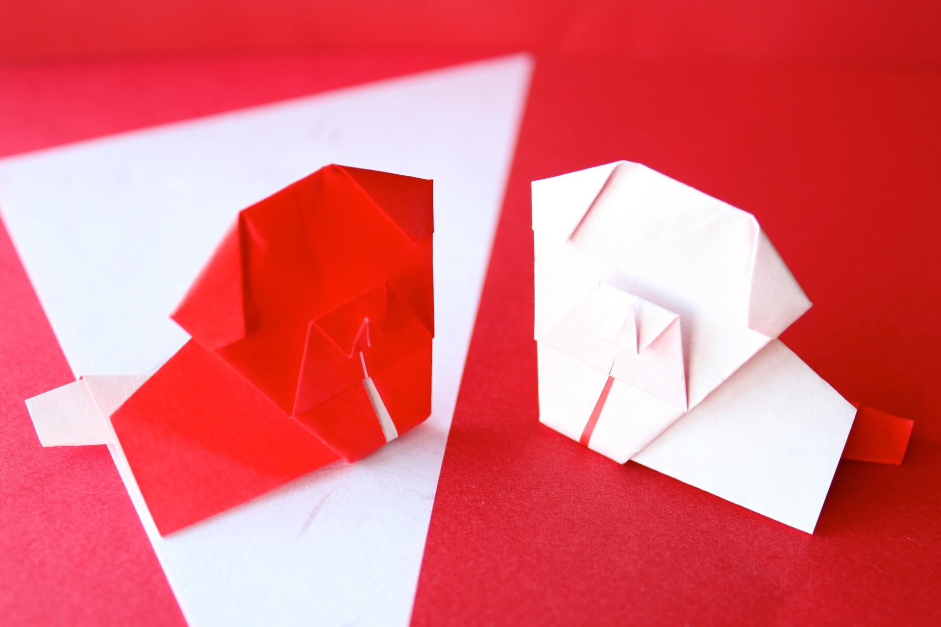 【干支の折り紙】犬・戌の折り方
