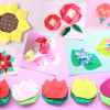 折り紙で花の折り方