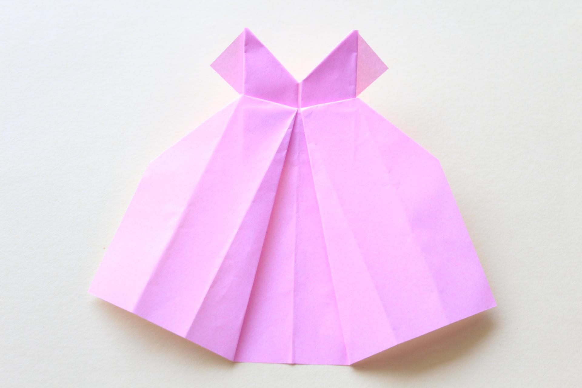 ドレスの完成