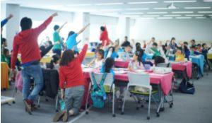テックキッズスクールの教室